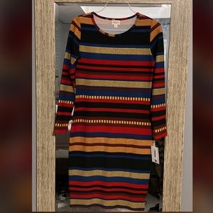Lularoe Holiday Debbie Dress
